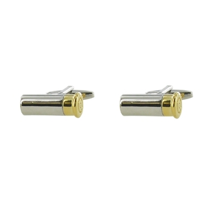 Image of Range Right Cufflinks - Cartridges - Silver