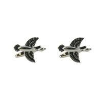 Range Right Cufflinks - Flying Ducks