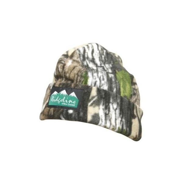 091cd5ea08c Image of Ridgeline 2 Layer Fleece Beanie - Buffalo Camo