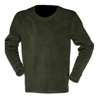 Image of Ridgeline Essential Long Sleeve Fleece Tee - Olive
