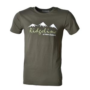 Image of Ridgeline Peaks T-Shirt - Urban Khaki