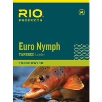 Rio Euro Nymph Leader - 11ft - 0X - 2X - 15lb - 8.5lb