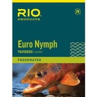 Rio Euro Nymph Leader - 11ft - 0X - 2X - 15lb - 8.5lb