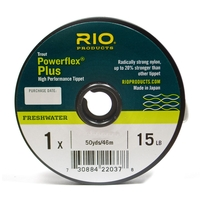 Rio Powerflex Plus Tippet - 50yd