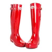 Rockfish Original Tall Gloss Wellington Boots - Adjustable  (Women's)
