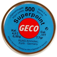 RWS Geco .177 POINTED Pellets x 500