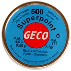 Image of RWS Geco .177 POINTED Pellets x 500