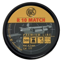 RWS R10 Match .177 (4.50) Rifle Pellets x 500