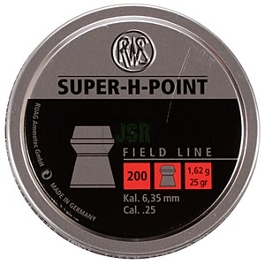 Image of RWS Super H Point .25 Pellets x 200