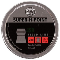 RWS Super H Point .25 Pellets x 200