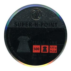 Image of RWS Super H Point .22 Pellets x 500