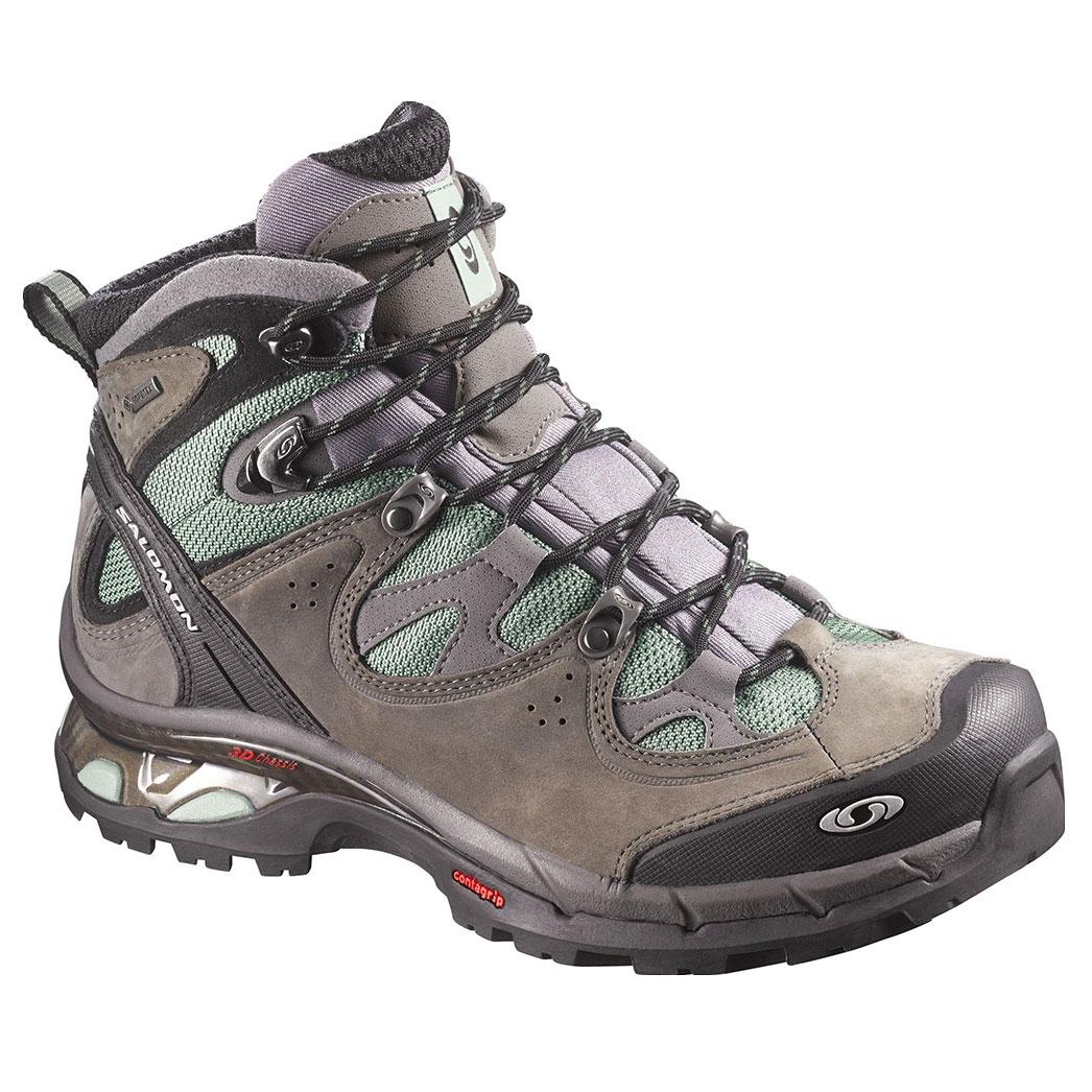 17d90e9fbd Salomon Comet 3D Lady GTX Walking Boots (Women's) - Lichen Green / Autobahn  / Lichen Green