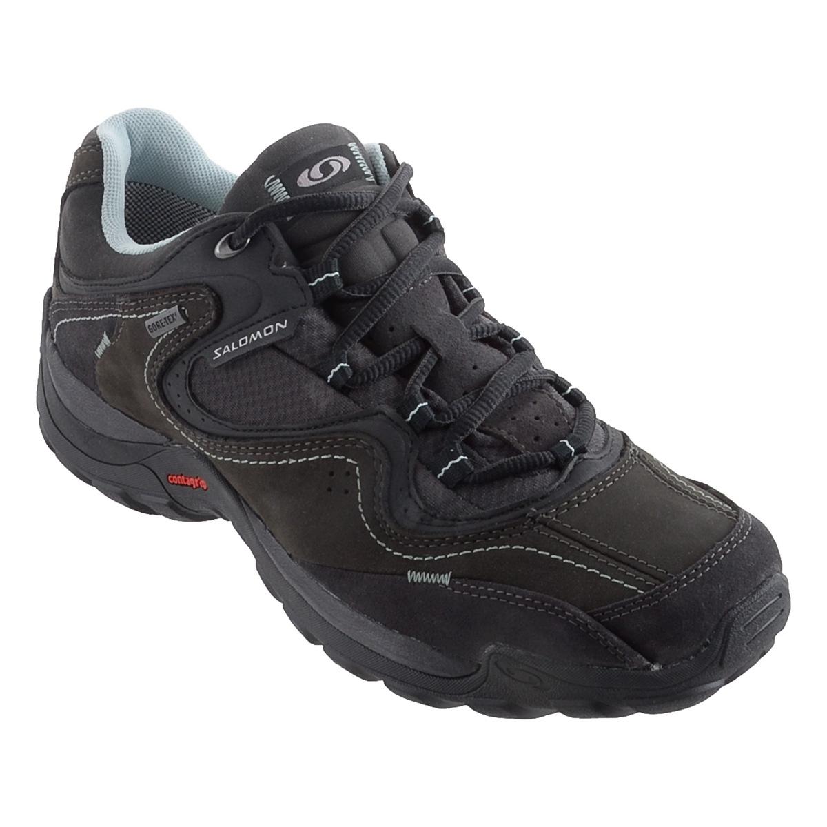 Salomon Elios 2 GTX Walking Shoes (Men's) Asphalt Autobahn Genepi