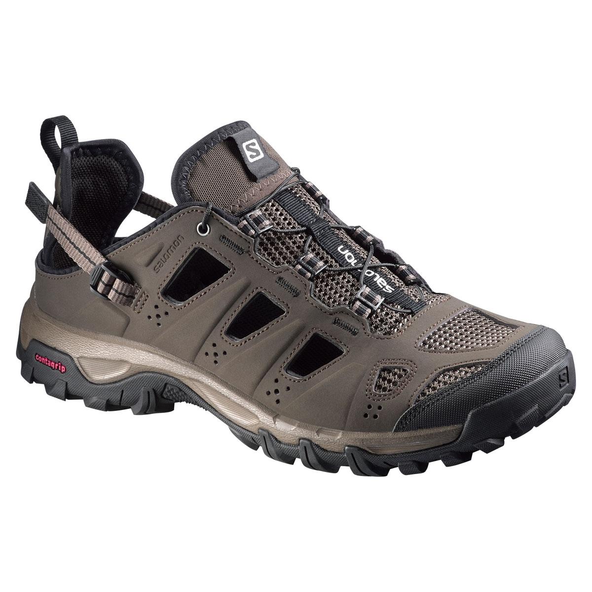 Salomon EVASION CABRIO - Walking sandals - absolute brown-x/burro/black KqK5wFHlE