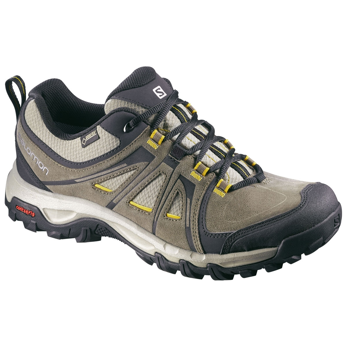 332a1c186a82 Image of Salomon Evasion GTX Walking Shoes (Men s) - Swamp Dark Titanium