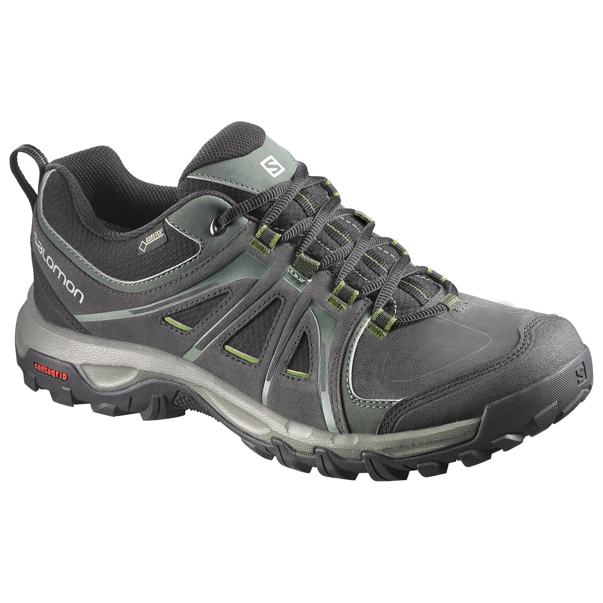 24c2b95c6708 Image of Salomon Evasion GTX Walking Shoes (Men s) - Asphalt   Black    Genepi