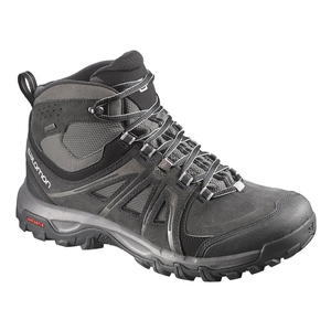 091aaa041f50 Image of Salomon Evasion Mid GTX Walking Boots (Men s) - Black   Autobahn