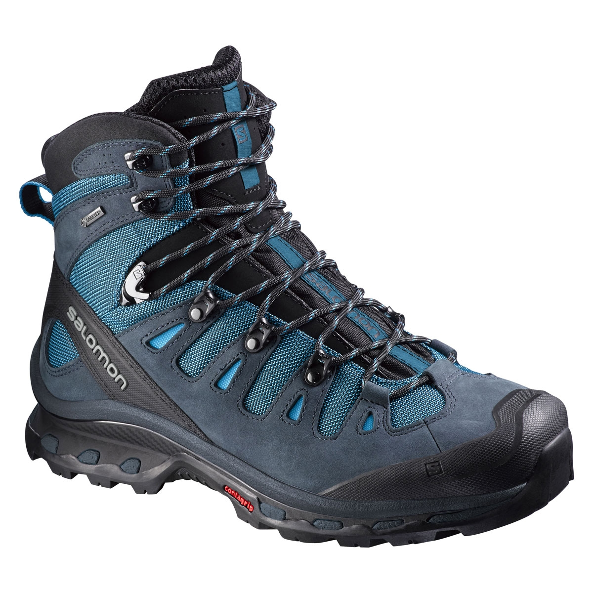 e30d4cbc13c95 Salomon Quest 4D 2 GTX Walking Boots (Men s) - Fog Blue   Deep Blue ...