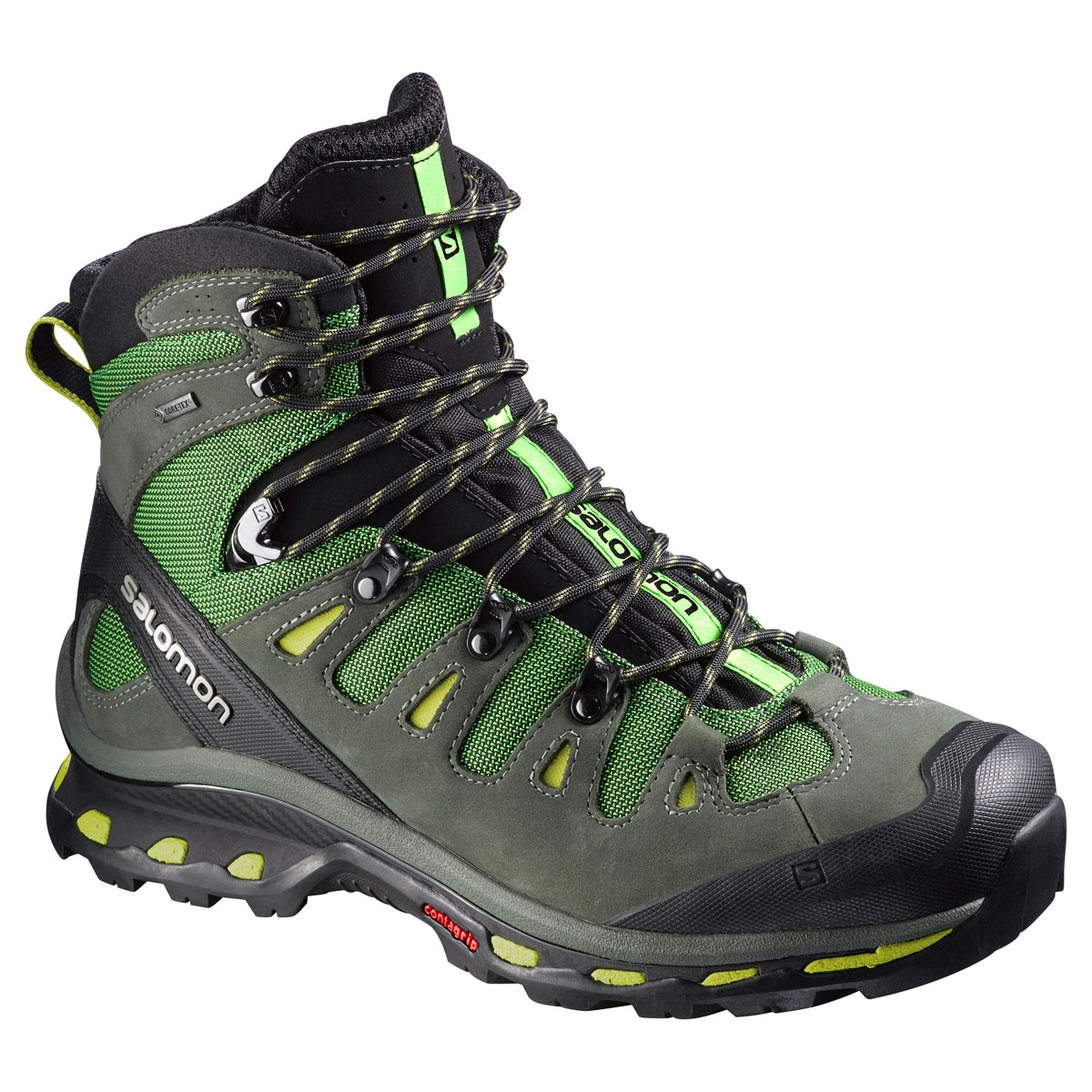c5a1b06095ad Salomon Quest 4D 2 GTX Walking Boots (Men s) - Tonic Green   Night ...