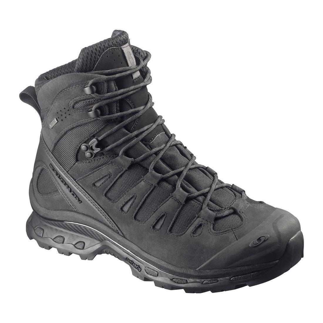 Salomon Quest 4D Forces Tactical Boots (Men's) BlackAsphalt