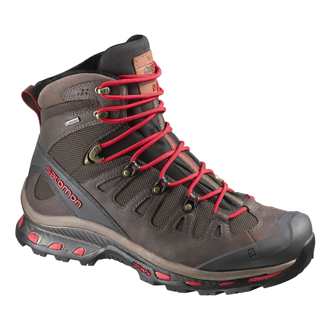 6a095c531be8 Image of Salomon Quest Origins GTX Walking Boots (Men s) - Absolute Brown-X
