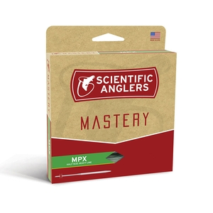 Image of Scientific Anglers Mastery MPX Fly Line - Amber/Willow