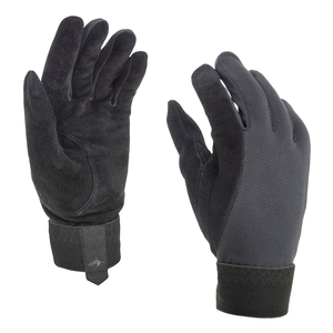 Image of SealSkinz Solo Shooting Gloves - Black
