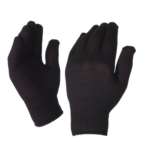 Image of SealSkinz Thermal Liner Glove with Merino Wool (One Size) - Black