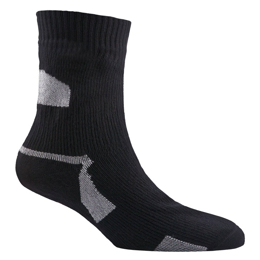 689260516 Image of SealSkinz Thin Ankle Length Sock - Black
