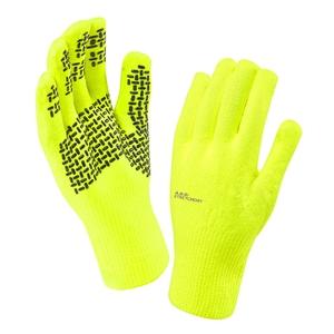 Image of SealSkinz Ultra Grip Gloves - Hi Viz Yellow