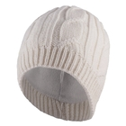 Image of SealSkinz Waterproof Cable Knit Beanie - Cream
