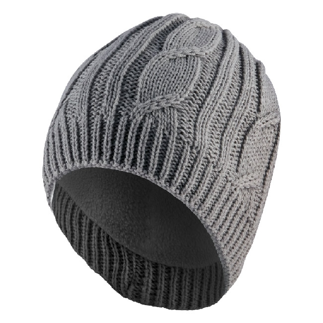 Image of SealSkinz Waterproof Cable Knit Beanie - Grey 9f822bfcc04