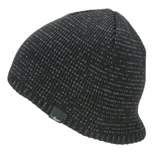 Image of SealSkinz Waterproof Cold Weather Reflective Beanie - Black