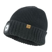 SealSkinz Waterproof Cold Weather LED Roll Cuff Beanie