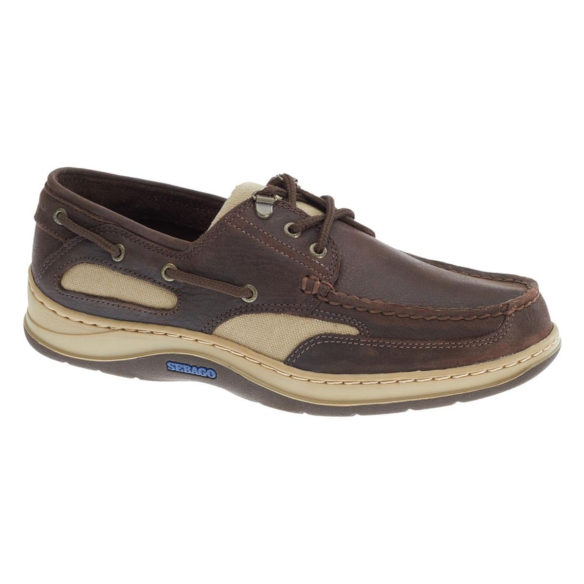 Image of Sebago Clovehitch II Shoe (Men s) - Dark Brown Leather 868bdb383c