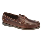 Image of Sebago Docksides Portland Shoe - FGL Oiled Waxy (Men's) - Total Brown