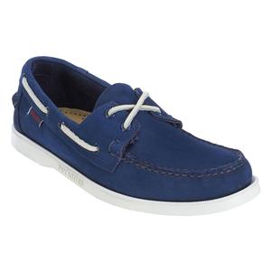 Image of Sebago Docksides Shoe (Men's) - Navy Nubuck