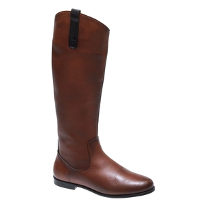 Image of Sebago Plaza Tall Boot (Women's) - Cognac Leather