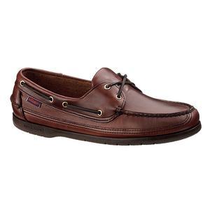 Image of Sebago Schooner Shoe (Men's) - Brown Oiled Waxy