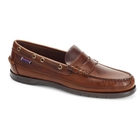 Sebago Sloop Waxed Leather Loafers (Men's)