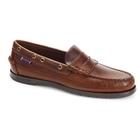 Sebago Sloop Waxed Leather Loafers (Men's)