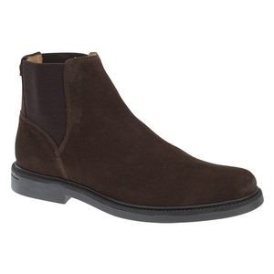 Image of Sebago Turner Chelsea WP Casual Boots (Men's) - Dark Brown Suede