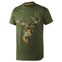 Seeland Camo Stag T-Shirt
