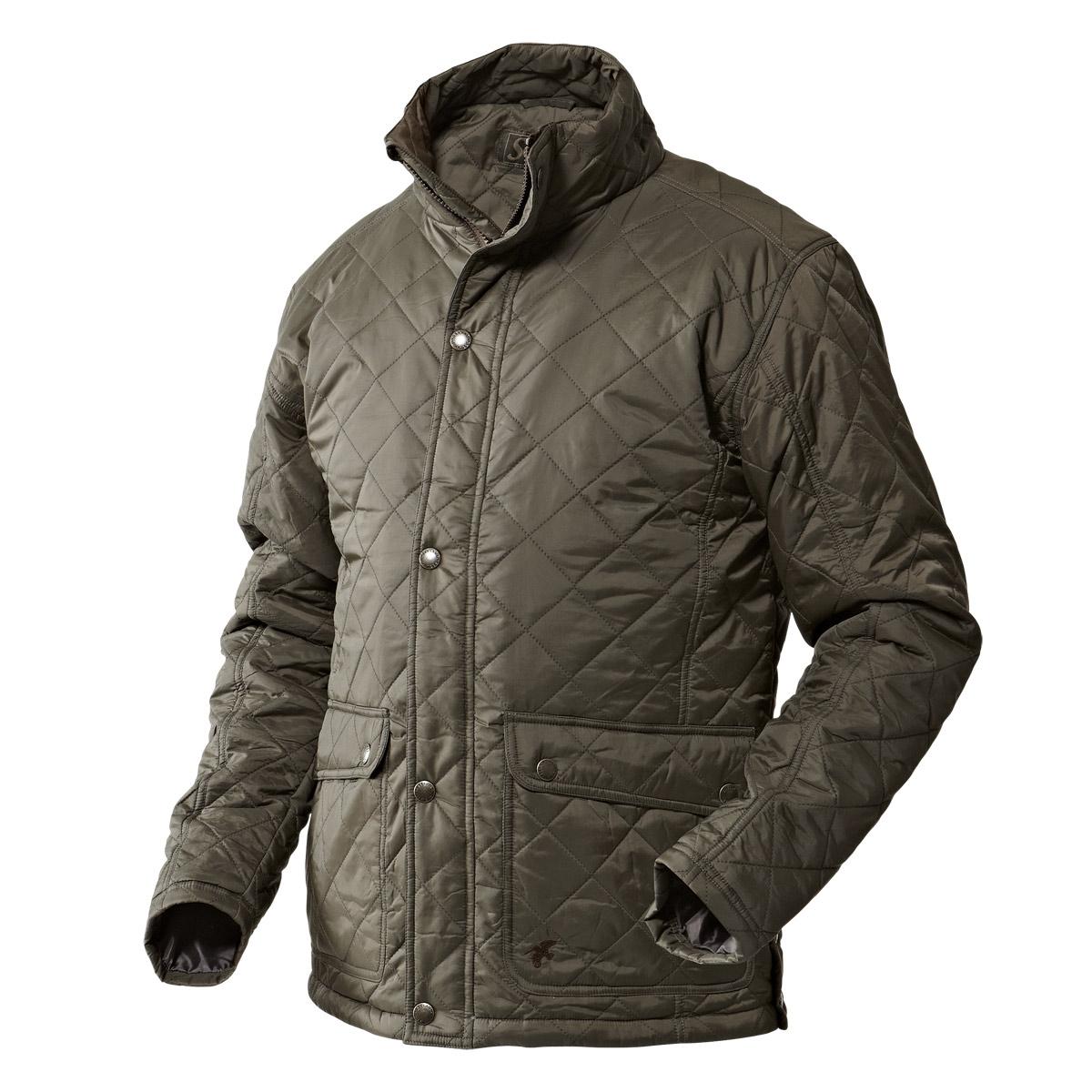 9d6fca8938a Seeland Cottage Quilt Jacket - Black Olive | Uttings.co.uk