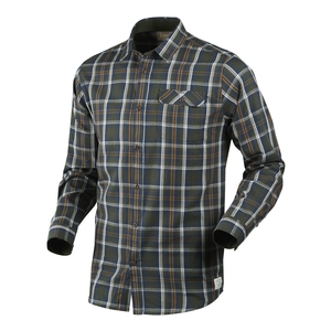 Image of Seeland Gibson Shirt - Carbon Blue Check