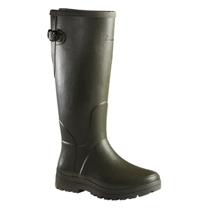 Image of Seeland Woodcock AT+ 18 Inch Wellington Boots (Unisex) - Dark Green
