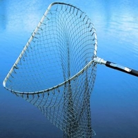Sharpe's Flat Frame Sea Trout Tele Handle Net