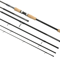 Shimano 6 Piece STC Multi-Length Travel Spinning Rod - 2.40m/2.70m - 3-14g
