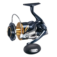 Shimano Stella SW-C 8000 HGC Spinning Reel - New 2019 Model with a Heatsink Drag System