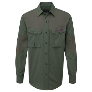 Image of Shooterking Bamboo Anti-Zect Shirt - Green